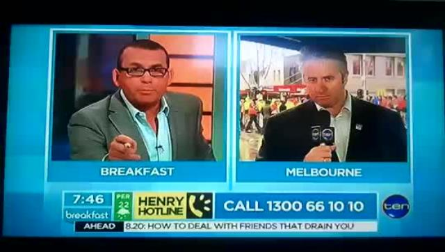 David Noonan, National Secretary of the Construction, Forestry, Mining and Energy Union turned the tables on Breakfast's Paul Henry.