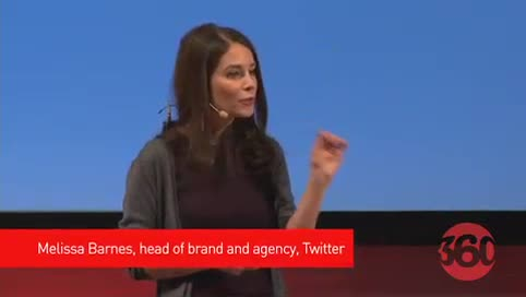 Melissa Barnes talks about the Twitter user story, how Twitter worked with the Olympic committee to bring viewers closer to the action and the role that brands played, the reaction at the company when big names like Warren Buffet join the platform.